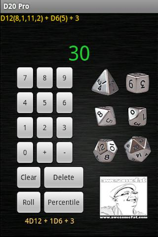 D20 Gaming Dice Pro