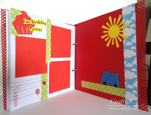 Summer Scrapbook with Stamping