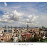 Barcelona desde Miramar