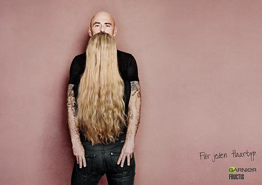 Garnier blonde beard