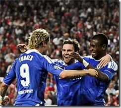 Chelsea ganó en Portugal