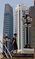 Singapore street lights