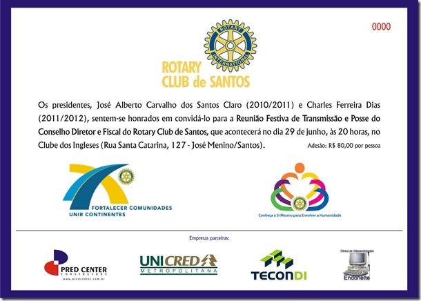 Convite POSSE RC de Santos