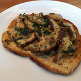 Ceps on toast