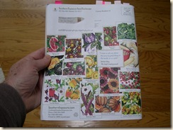 Seed catalog SESE