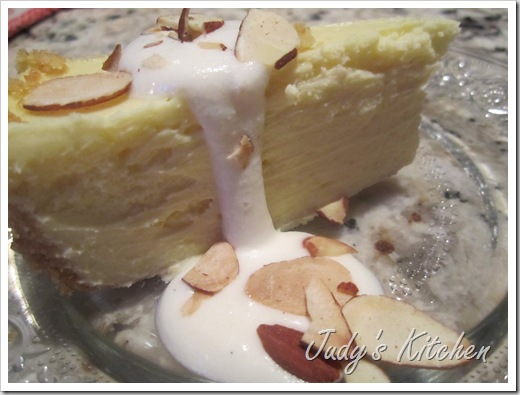 almond cheesecake (10)
