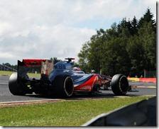Button conquista la pole del gran premio del Belgio 2012