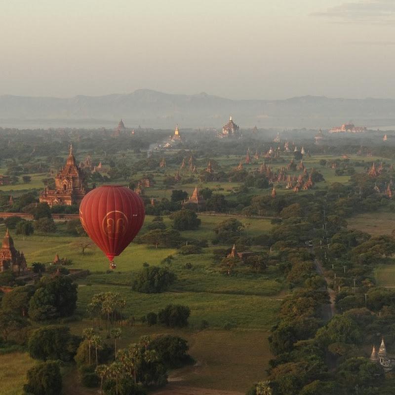 The Thousand Temples of Bagan, Myanmar