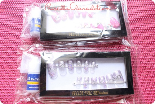 Priscilla review Felize nail art A