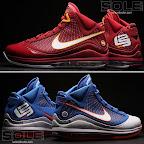 nike air max lebron 7 pe hardwood blue 3 10 Yet Another Hardwood Classic / New York Knicks Nike LeBron VII