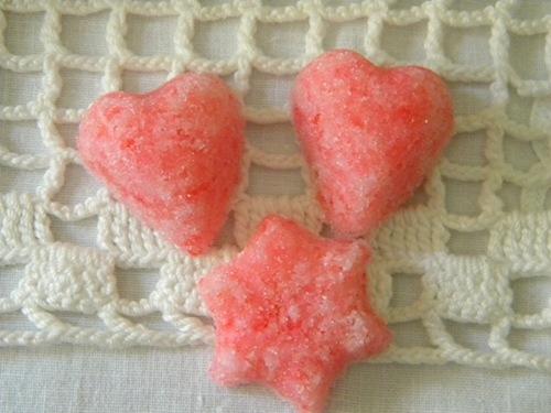 Leftover Candy Cane Sugar Cubes via homework | carolynshomework.com