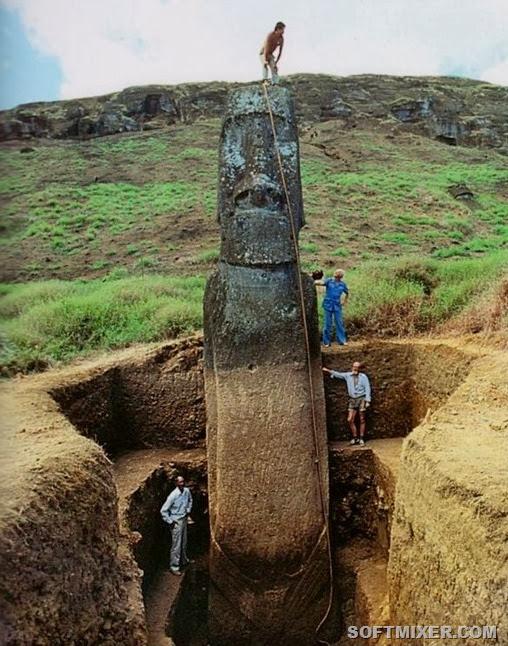 Остров Пасхи был заселен примерно в 400 г. н. э.