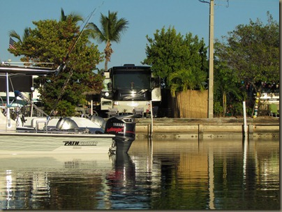 late day kayak at sunshine key rv park