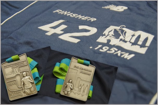 SCKLM Finisher-T and Medal