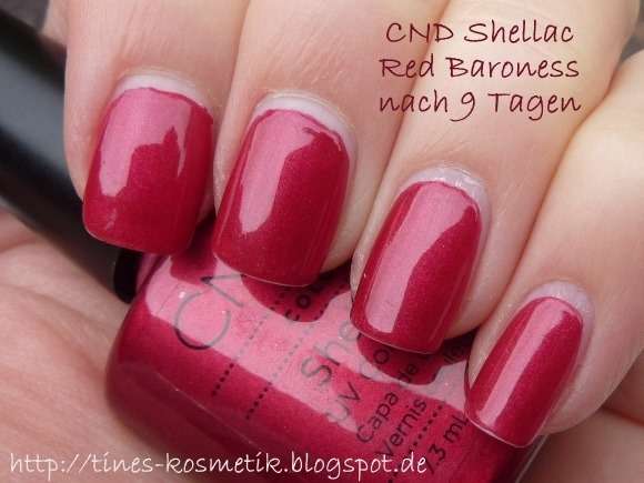 CND Shellac Red Baroness 9 Tage 1