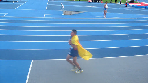 Colombia wins the 10,000m!