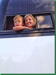 Ty and mommy bus