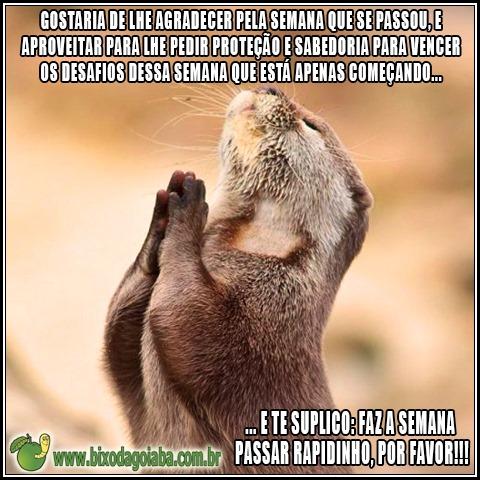 Oração de toda segunda-feira