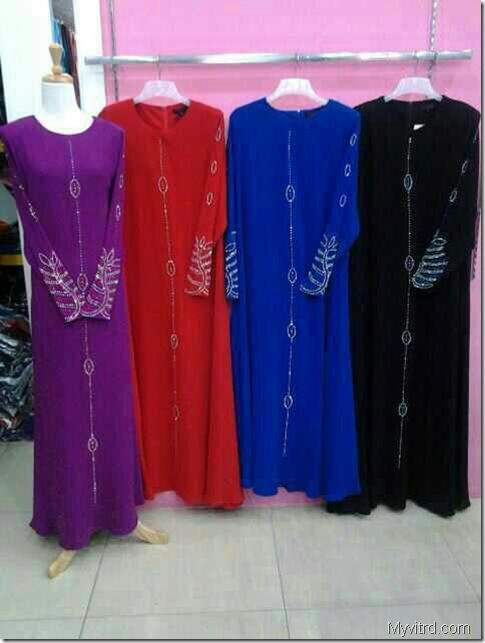 Abaya potongan Princess 3