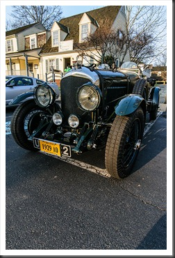 1929 Bentley at Coffee and Cars