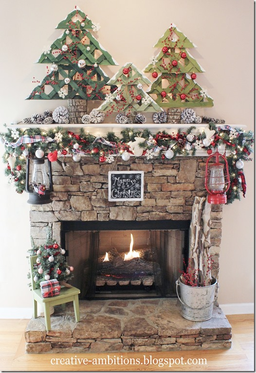 Christmas Mantel 2014 (a)