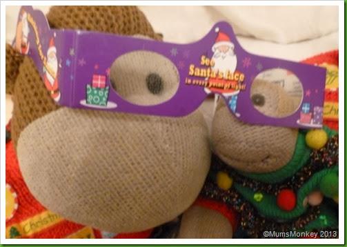 magic christmas glasses