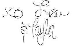 Lisa taylor signatures