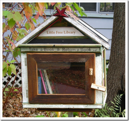 Little Free Library: nano-library