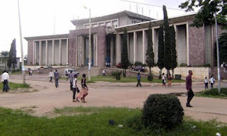Bâtiment admistratif de l'Université de Kinshasa. Photo afriqueredaction.com