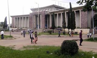 Bâtiment admistratif de l'Université de Kinshasa. Photo afriqueredaction.com
