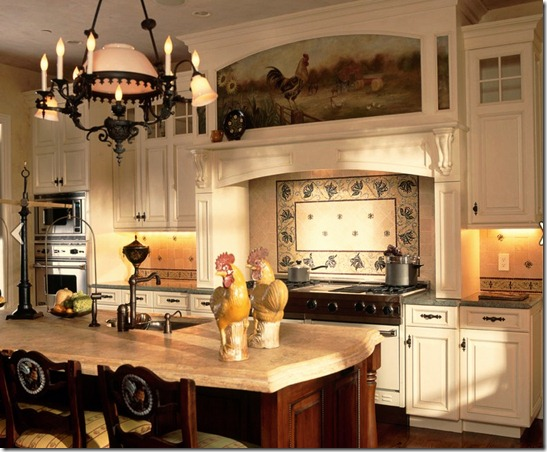 Grand Westchester County Estate - traditional - kitchen - new york - Robin Baron_edited