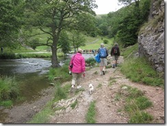 Walking in Dovedale