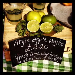 Virgin apple mojito by London Particular