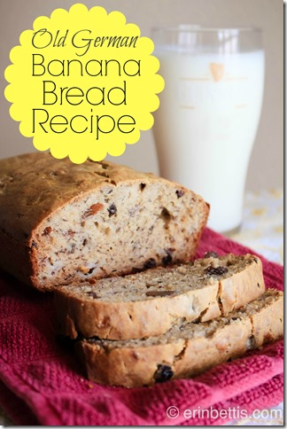 Old German Banana Bread Recipe