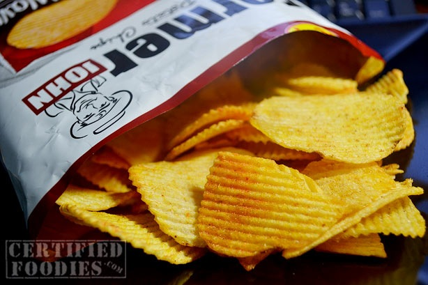 No special effects here, just a clear photo of these chips I got from Blogapalooza