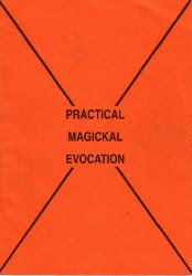 Cover of Malcolm Mcgrath's Book Practical Magickal Evocation