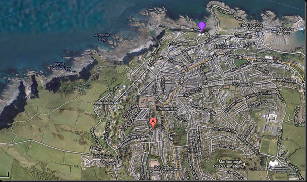 Ilfracombe EX34 8DR   Google Maps