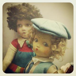 Muñecas antiguos. Can Prunera. Sóller para niños. No sólo comen y duermen