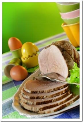 Szynka na Wielkanoc, gotowana w 5 minut