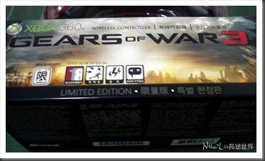 GEARS OF WAR 3 手把外包裝