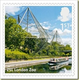 Z - ZSL London Zoo stamp