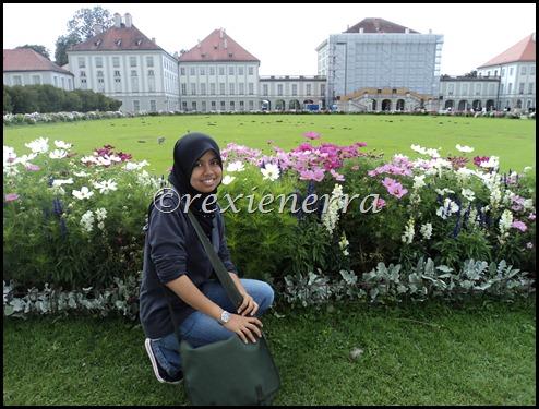 nymphenburg castle-flowers