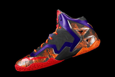 nike lebron 11 id allstar 2 05 gumbo Nike Unleashed Endless Possibilities with LeBron 11 Gumbo iD!