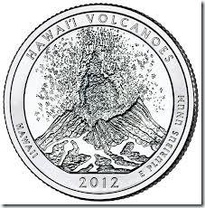 ハワイ火山コイン