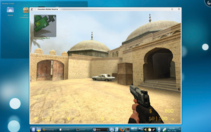 Counter-Strike su Linux - KDE