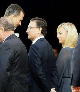 Felipe VI y Sonia Castedo