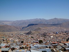 View over Potosi.