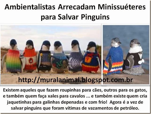 Minissuéteres para Salvar Pinguins