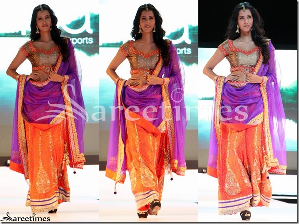 Orange_Designer_Lehenga