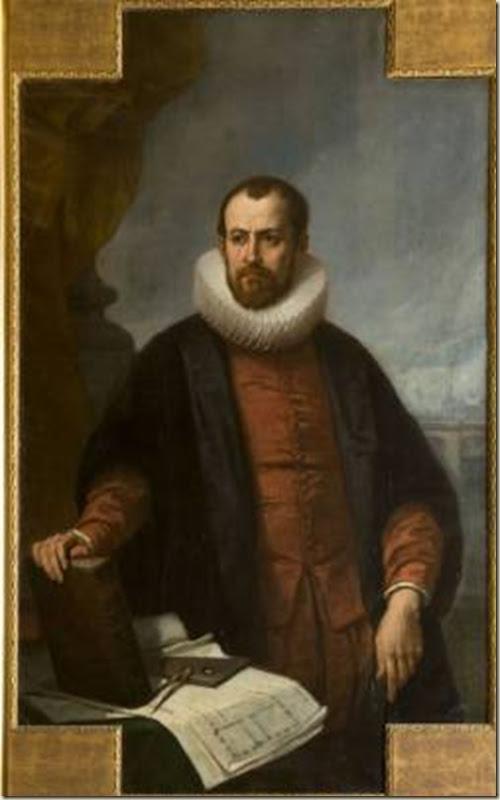 Joseph de Beaume, Portrait de Jacques Androuet du Cerceau